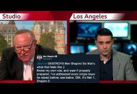 Shapiro pierde los papeles ante periodista conservador en la BBC. Hasta él puede perder un debate.
