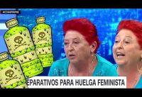 DOSIS CONCENTRADA de Toxina ideológica a cargo de la VOCERA del 8M en CHILE.-