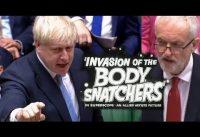Nuevo 1er Ministro de UK Boris Johnson *EXPLOSIVO* contra el Socialista Corbyn.-