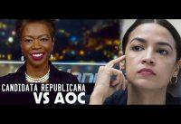 AOC: contra el Colegio Electoral; y la candidata republicana de su distrito en NY.-