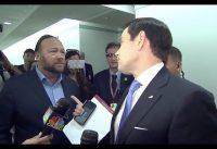 Alex Jones CONFRONTA al Republicano Marco Rubio.-
