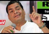 Correa quiere volver, COBRANDO de Maduro y de RT.....