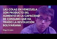 Errejon Haciendo COLA en Venezuela.-