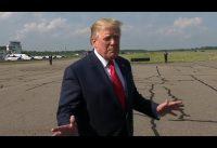 Este es el Trump que no suele salir en los medios tradicionales...