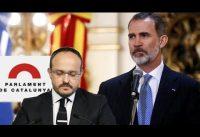 En Defensa de la Monarquia; Alejandro Fernandez en el Parlamento de Cataluña.-