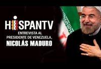 HispanIRANTV entrevista a MADURO sin Hijab. CASI-mejor-que-RT!!!!!