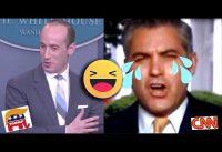 Jim ACOSTA de CNN *REVOLCADO* sin PIEDAD por Asesor REPUBLICANO.-