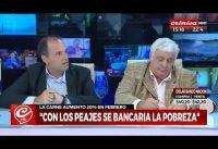 """Economista Liberal discute con: Sindicalista y Empresario favorables a """"Nacionalizar Todo"""".-"""