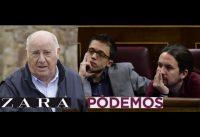 La Diferencia entre Amancio Ortega (Zara) y Pablo Iglesias (Podemos).-