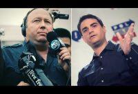 La Guerra en Twitter entre Alex Jones y Ben Shapiro...