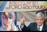 Mex: Gloria Alvarez sobre Lopez Obrador AMLO y el Foro de San Pablo.-