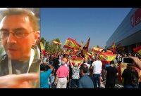 """Monedero ASUSTADO: """"Manifestarse CONTRA la IZQUIERDA es FASCISMO!"""""""
