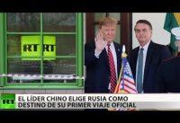 El Ministerio Rusia Today no ve con buenos ojos la alianza entre Trump y Bolsonaro...
