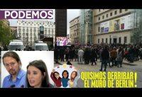 """Comp-Acto Podemos: De """"tomar el cielo por asalto"""" a: """"queremos un ministerio!"""""""