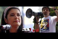 Periodista Chavista sale *ESTROPEADA* tras Debate con Diputado OPOSITOR.-