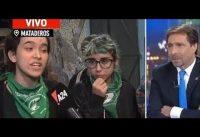 Periodista Conservador *vs* Nenes *OKUPAS* de Liceos en Argentina....