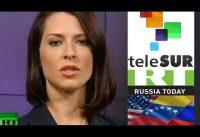 "Periodista de RT *INDIGNADA* : ""Las Sanciones de USA Afectan a TELESUR!!!!"""