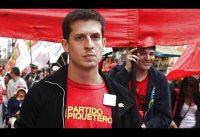 """Piquetero se pasa al """"FRENTE de TODES"""" y se transforma en un SER DE LUZ.-"""