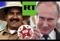 Putin y la RUBIA de RT felicitan a Maduro por el Fraude ELECTORAL.-