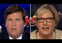 Tucker Carlson *vs* Profesora UNIVERSITARIA.-