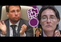 ALMEIDA deja *inerte* al trio Podemos-PSOE-MasErrejón, en Madrid.-