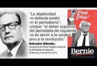 Bernie Sanders y su cuento de Hadas sobre Salvador Allende y el Chile de los 70s.-