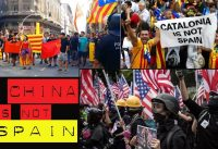 El error de equiparar a Hong Kong con Cataluña. China is not Spain.-