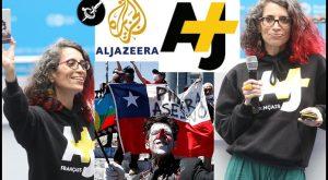 AJ+ la RT de Qatar siente asco por el sistema Chileno, es mucho mejor una dictadura islamica.-
