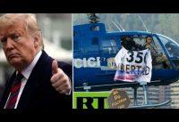 Gran gesto de Trump homenajeando a Oscar Perez; mientras ☢ RT reparte su POLONIO210 informativo ☢.-