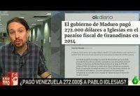 DEMANDA: OKDiario gana. Pablo Iglesias paga. Periodistas Venezolanos opinan.-