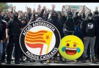 En BARCELONA, los niños *ANTIFA* son _NACIONAL_istas_SOCIAL_istas_Catalan_istas. 21D.-