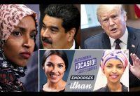 Congresista (D) ILHAN OMAR: 90% de impuestos; y respuesta a TRUMP por VENEZUELA y el SOCIALISMO.-