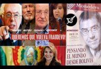 Politicos y Celebridades de izquierda *claman* por la vuelta de FraudEvo!