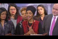 El extraño lenguaje gestual del grupo *PODEMOS* del Partido Democrata al hablar sobre Iran...