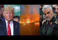Trump *da de baja* al lider de la Guardia Revolucionaria Islámica en Iran. El antes y el después.-