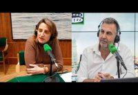 Ministra PSOE *se ofende* si le preguntan por el AVIÓN de DELCY....