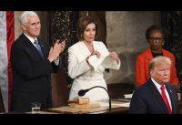 #SOTU Trump 2020: La Furia de Nancy. Comentario y Fragmentos. Subtitulado en Español.-