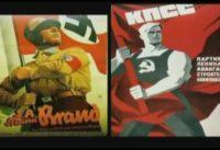 Rojos y Pardos Desfilando Juntos, como Buenos Primos Hermanos Totalitarios. Polonia, 1939.-