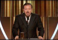 Ricky Gervais en los Golden Globes Patea la Corrección Politica y se RIE de las CELEBRITIES....