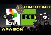 Apagón-Sabotaje con el virus polonio210 en Chernobyl-Caracas: Telesur y RT.-