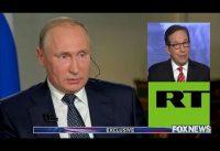 La pregunta que RT *JAMAS* le haria a Putin (se la hizo Fox News)