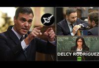 Sin Delcy No Hay Paraiso: Izquierda vs Derecha en el Parlamento Español.-