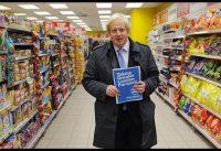 Boris Johnson en 1998: supermercados, almacenes de barrio y corazones traicioneros.-