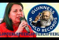 Gobernadora CHAVISTA Logra el RECORD GUINNESS en: *PUEBLISMO*.-