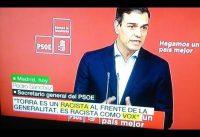 La prueba *CONCLUYENTE* de que VOX es RACISTA. Podemos/PSOE tienen razón.-