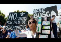 Testimonios del DRAMA de Vivir con Hiper-Inflación y sin Medicamentos en la Vzla Chavista.-