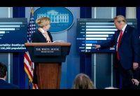 Trump con la prensa: Mi test de #covid-19; las mentiras de China, y un agradecimiento a Europa.-