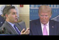 Rueda de Prensa: otro round de Jim Acosta de CNN vs Trump.-