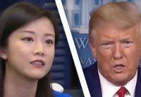 Una Periodista China le pregunta a Trump, y pasa lo siguiente....