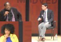 Ben Shapiro deja *MUDOS* a dos ACTIVISTAS de Black Lives Matter BLM.-